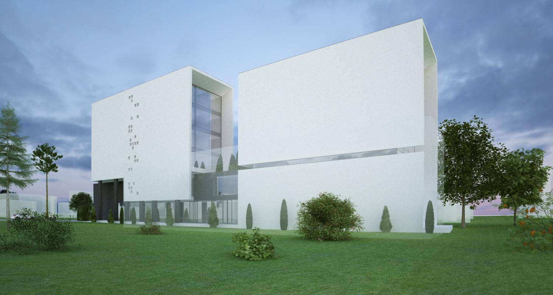 Proiect Green Hotel 4 stele Galati, GL | Concept Design Hotel Urban cod GHGL Galati - proiect din portofoliul CUB Architecture