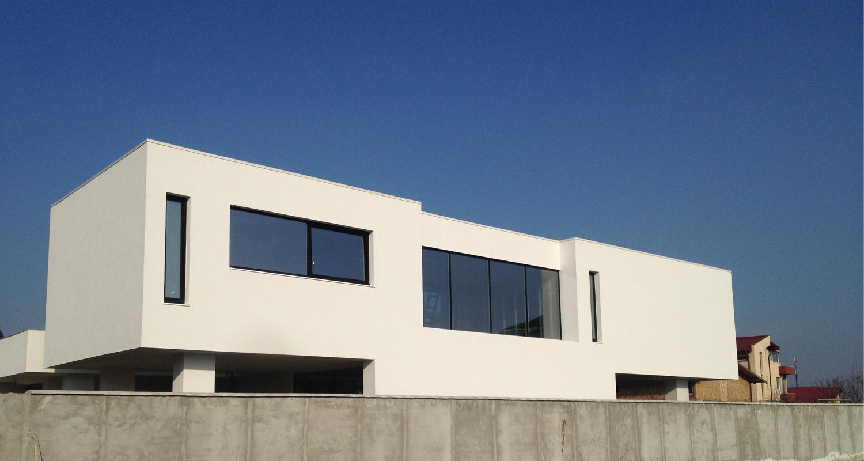 Locuinte moderne Lucrare finalizata casa cod PMC Fin Chiajna Ilfov lucrare din portofoliul CUB Architecture