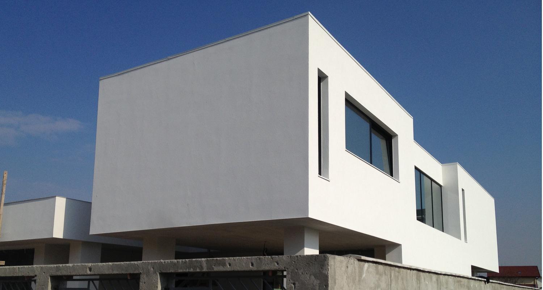 Locuinte moderne Lucrare finalizata casa moderna cod PMC Fin Chiajna Ilfov lucrare din portofoliul CUB Architecture