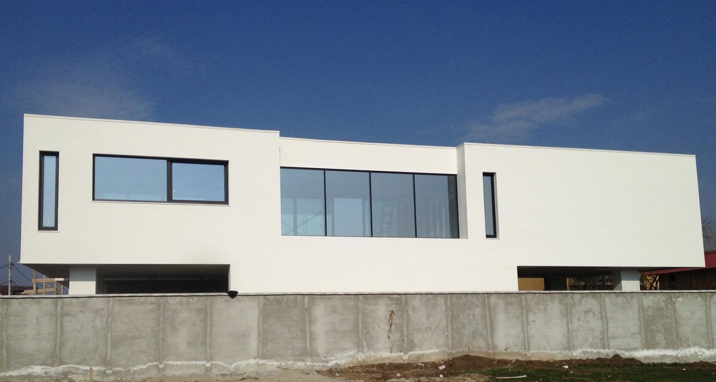 Locuinte moderne Lucrare finalizata casa moderna cod PMC Fin Chiajna - Rosu Ilfov portofoliul CUB Architecture